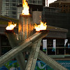<p>Vancouver 2010 Olympic Cauldron. Vancouver, British Columbia, Canada</p>