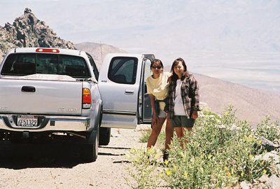 7/8/00 Descending Onion Valley Road from Onion Valley campground.