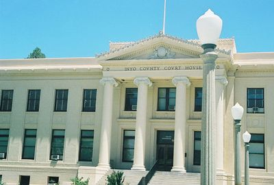 7/8/00 Independence Court House at Webster & Market Streets, Independence, Inyo County, CA