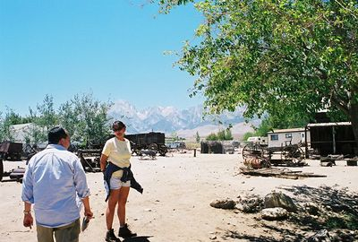 7/8/00 Eastern California Museum (antique wagons, tractors, mining implements) Independence, CA