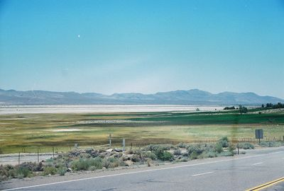 7/9/00 View of Owens Dry Lake from Hwy 395S (returning to LA from Onion Valley)