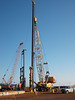 The piling rig