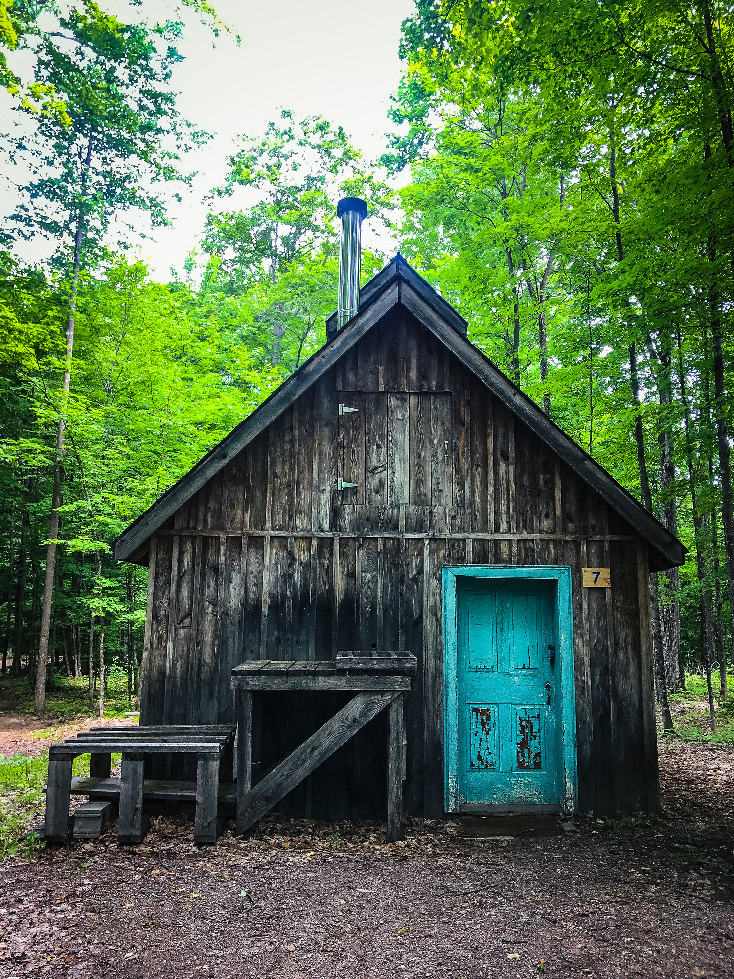 You can make maple syrup in this sugar shack with the Ottawa Valley Maple Adventures and you can do it all year round.