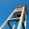 """<span id=""""title"""">Bell Tower</span> <em>American Reformed Church</em> You could hardly drive two blocks without passing some sort of reformed church. This one had a pretty cool bell tower."""