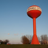 "<span id=""title"">Water Tower 2</span> So yeah, there are two bright orange water towers in Orange City. This one's even labeled!"