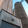 "<span id=""title"">Shed?</span> Another shot of the grain elevator complex. It was really cool to walk around (I'm sure we weren't supposed to) because of the massive scale of it. But yet the architecture is so simple - it's really just a bunch giant column-shaped containers for grain."