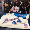 Hank Aaron Jersey - Atlanta Braves Stadium