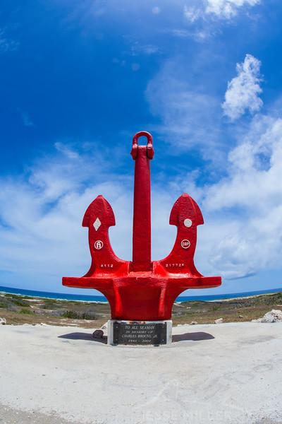 Anchor Near Baby Beach