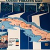 Cuban Tobacco Map