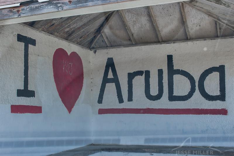 Bus Stop in Aruba
