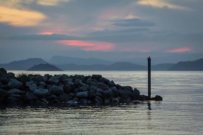 Orcas Island - 43 Sunsets on Orcas Island Point