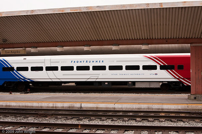 Commuter rail car likely purchased from Utah Transit Authority