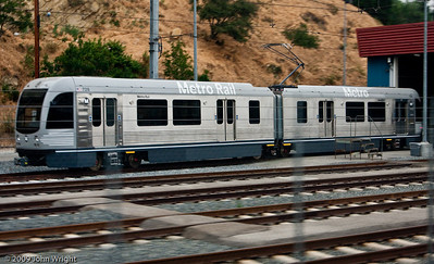 Metro Rail light commuter rail cars