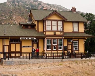 the station at Santa Susana, CA.  We didn't stop here.