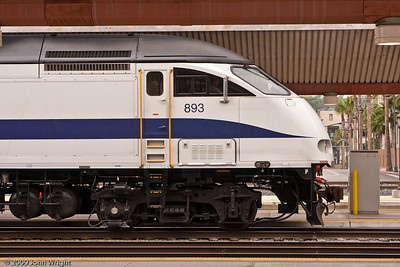 MotivePower, Inc.  MP36PH-3C commuter locomotive used by Metrolink