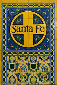 Inside the Santa Fe Depot in San Diego