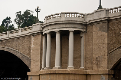 Bridge outside Union Station