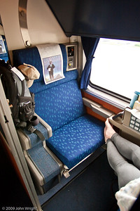 Another view of our roomette
