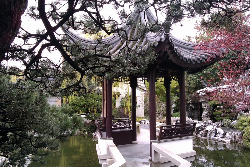 Chinese garden - Portland, OR