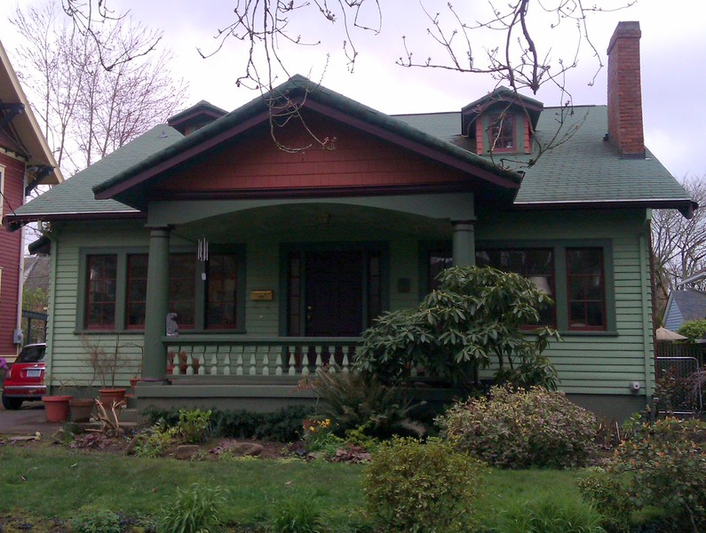 Victorian house in Portland, OR