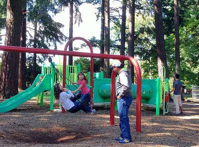 At Sellwood Park