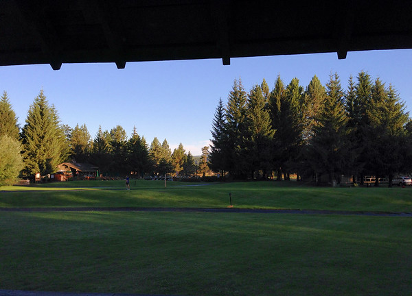 View from our room at Sunriver Resort
