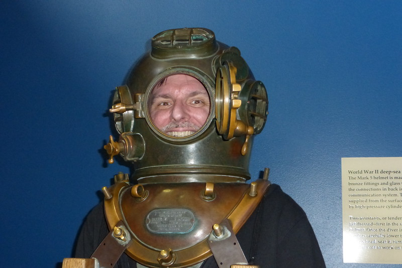 Mike the deep-sea diver