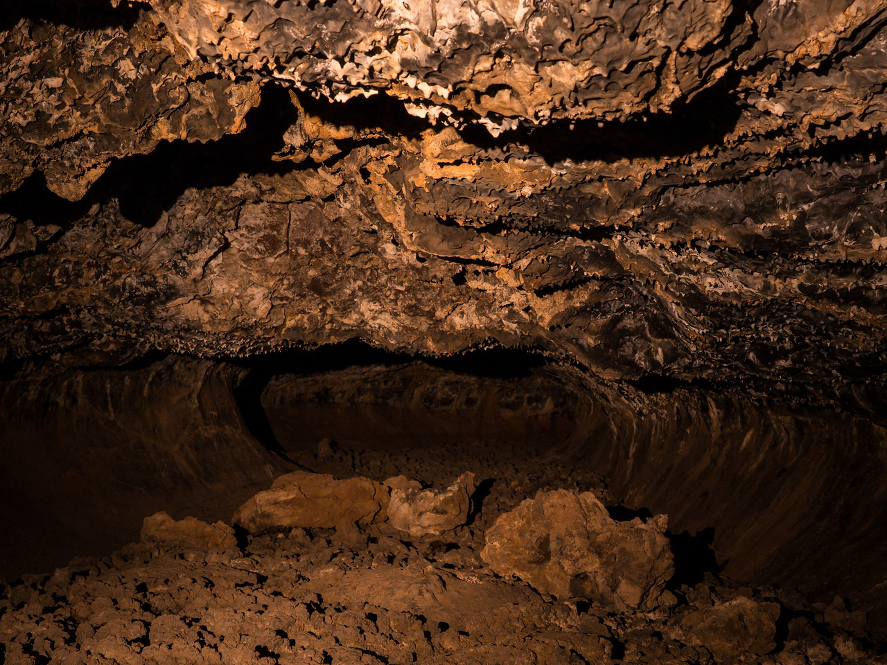 Golden dome cave