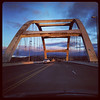 Alsea Bay Bridge, Lincoln County, built 1992