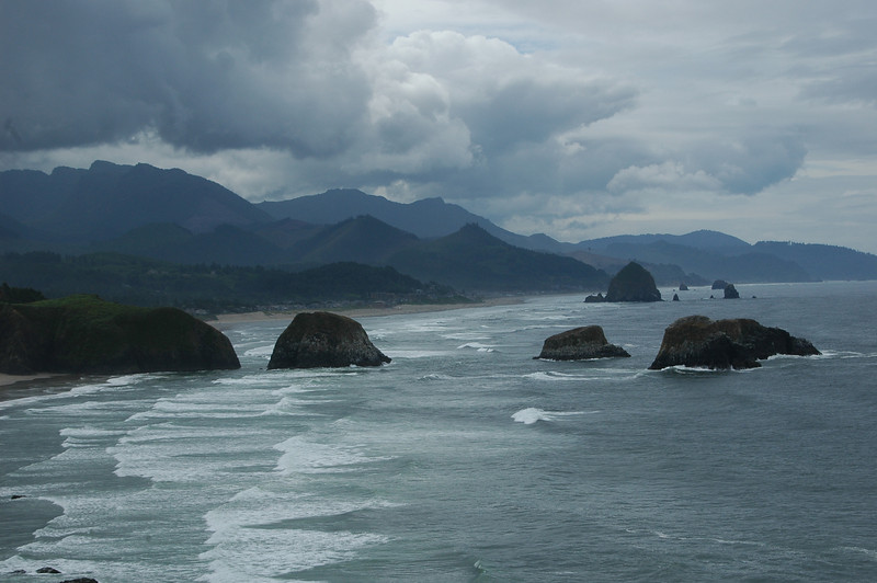 The view from Ecola State Park
