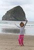 Pacific City's Haystack Rock is also called Teacup Rock.