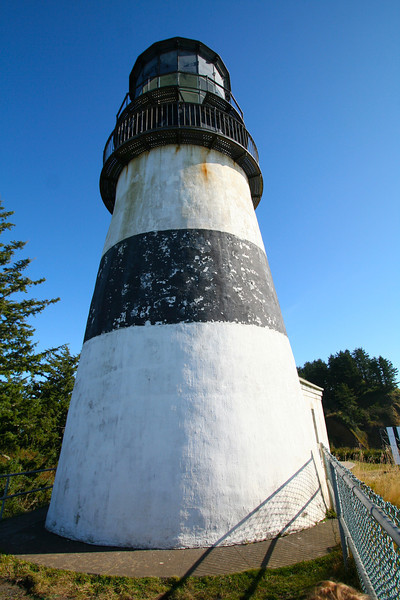 Cape Disappointment Lighthouse.