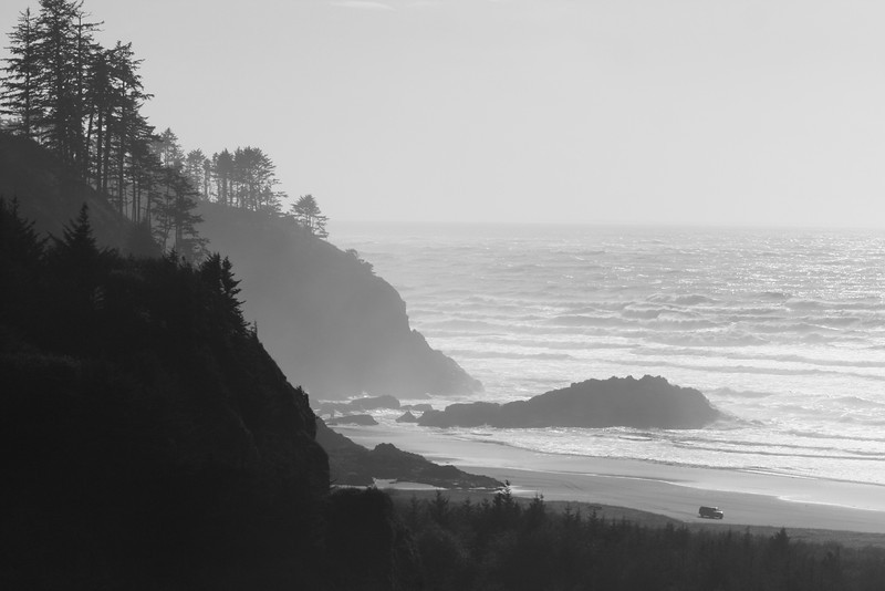 Our first stop:  Cape Disappointment, WA, near the OR border.