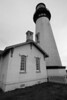 The very beautiful Yaquina (pronounced ya-QUINN-ah) Lighthouse, near Newport, OR.