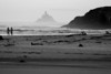 Early morning on Cannon Beach (with the Tillamook Rock Lighthouse in the background).