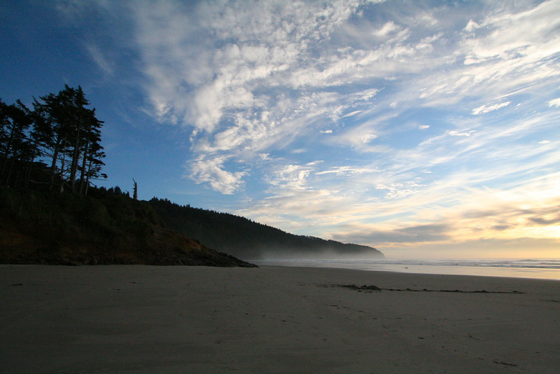 Sunset at Cape Lookout.