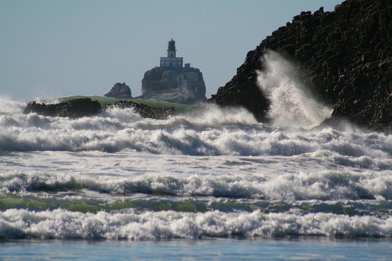 Before the crashing waves...