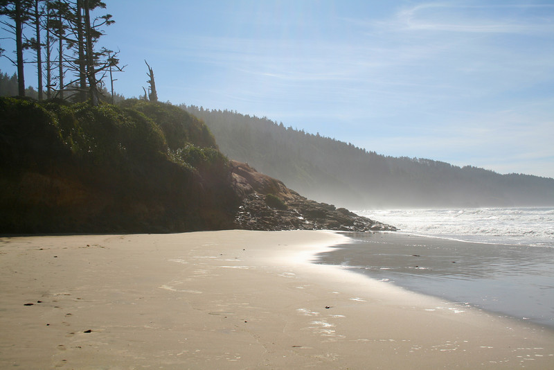 Next stop: Cape Lookout, with its showy, sandy beach.