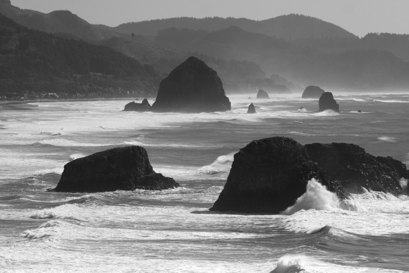 Our next stop, Ecola State Park, just north of Cannon Beach, Oregon.
