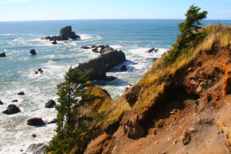 Another insanely beautiful view from Ecola State Park (which always makes me think of E-coli, which is not what I want to be thinking about when I'm shooting landscapes).