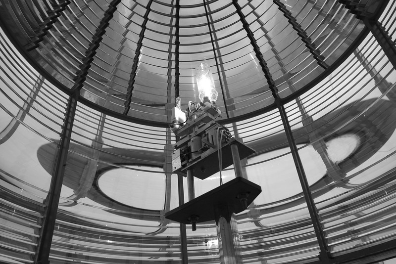 Another Fresnel lens at Yaquina.