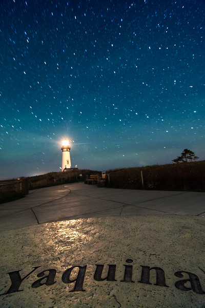 Yaquina Head Lighthouse Astrophotography, © Edward Louie 2016