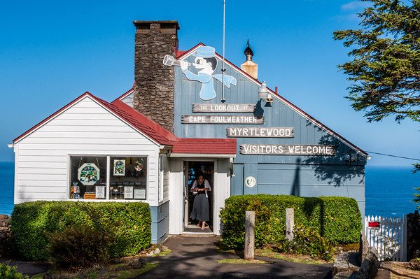 The Cape Foulweather lookout provides beautiful vistas to the north, west and south - and a charming gift shop.