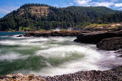Near Thor's Well, Oregon Coast