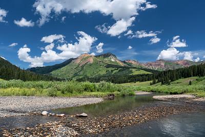North of Gothic, Colorado