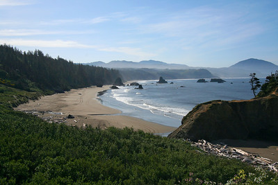Oregon coast.