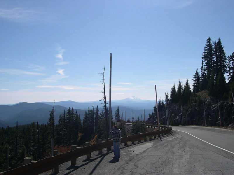 From Timberline Lodge Road
