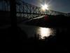 Columbia River at Bridge of the Gods