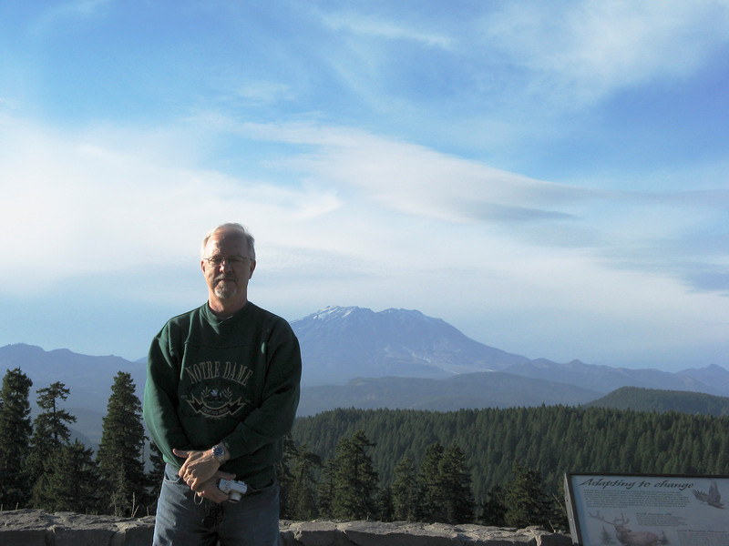 Roger and Mount St. Helens