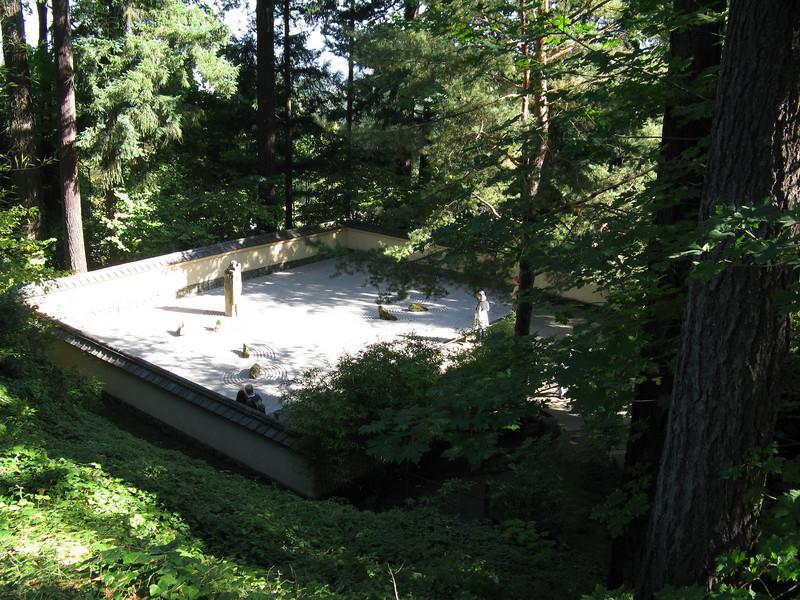 Zen Garden in Japanese Gardens